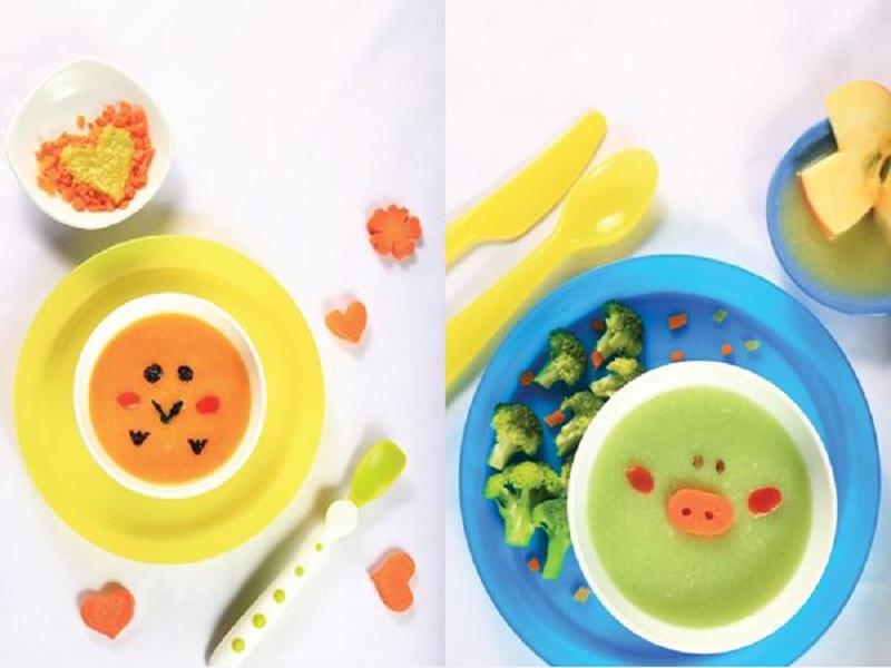 Thức ăn cần chế biến có màu sắc đẹp và nấu khéo