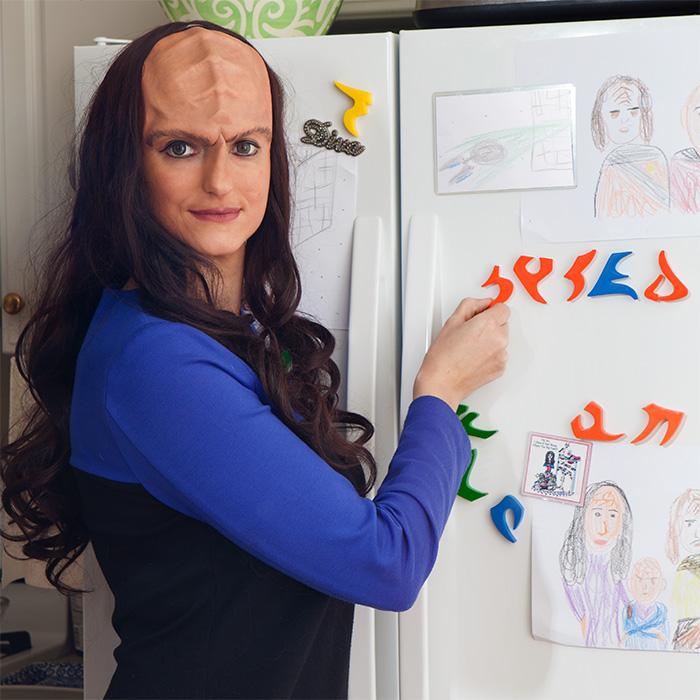 krvo st klingon alphabet magnets fridge