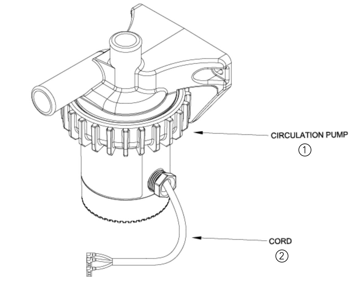 71434 Cord Replacement For Circulation Pump Spa Wiring Diagram Item Description Part 1 Circ