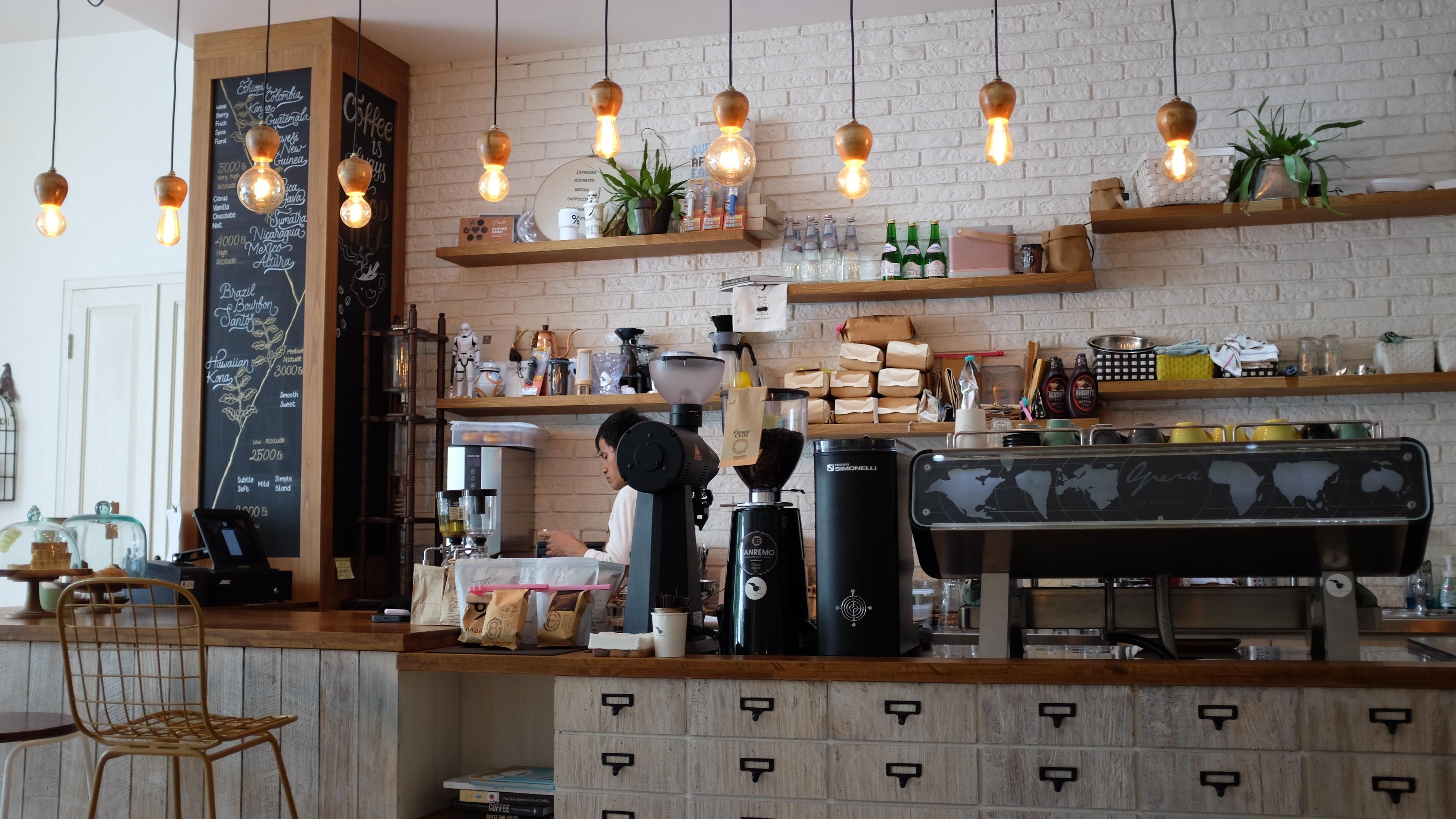 kawiarnia, najlepsze miejsce do zakupu kawy ziarnistej