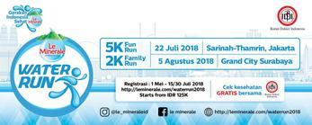 Le Minerale Water Run 2018