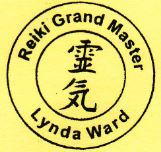 Reiki Grand Master Lynda Ward Charged