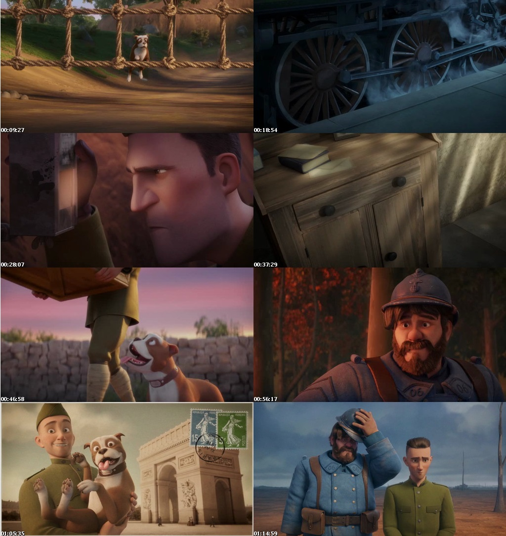 Sgt Stubby An American Hero 2018 Full English Movie Download 480p 720p