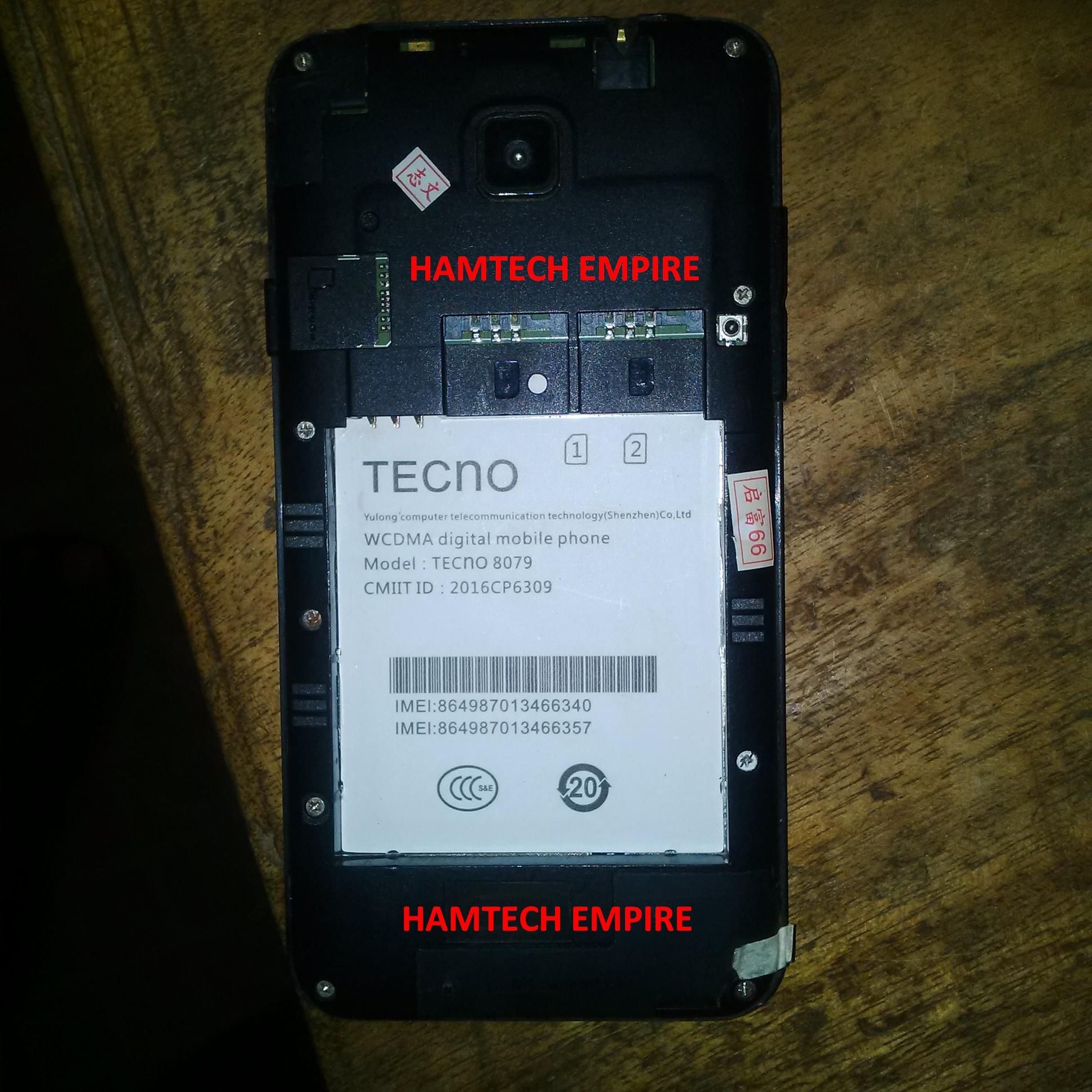 TECNO 8079 STOCK ROM FIRMWARE FLASH FILE - Needromng