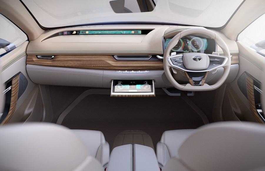 Tata E-vision interior 2