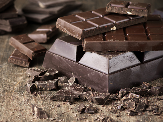The most healthy chocolate is named