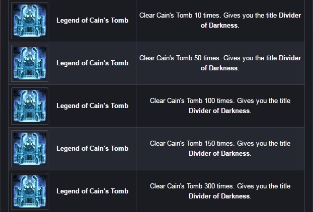 Cabal 2 Titles  Dungeon5