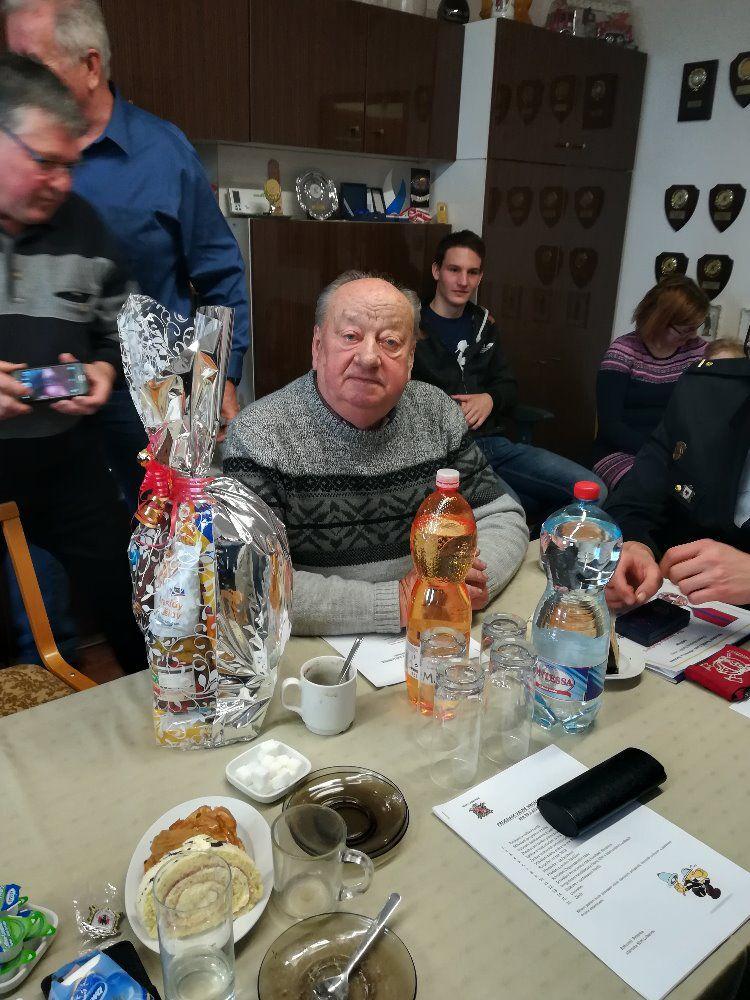 Výroční schůze SDH Lubenec 2018 19