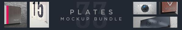Metal Lasercut Logo Mockups - 1