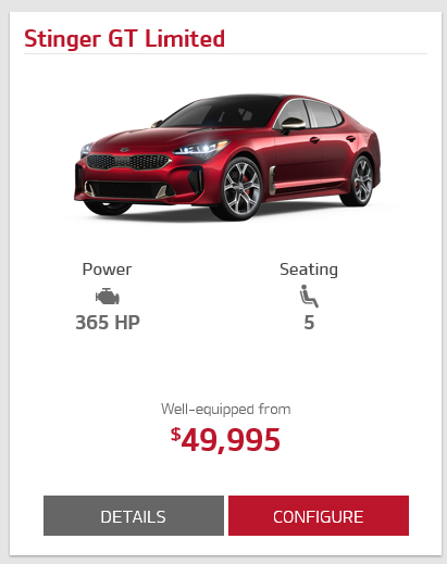 Kia Lafayette La >> Anyone noticed the Kia Stinger cost much less in Canada ...