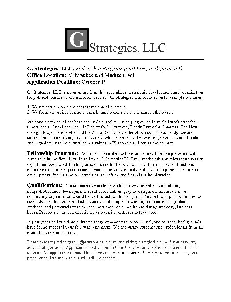 Madison strategies group