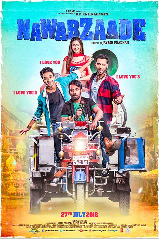 Nawabzaade (2018) Hindi 720p HDRip 1.4GB x264