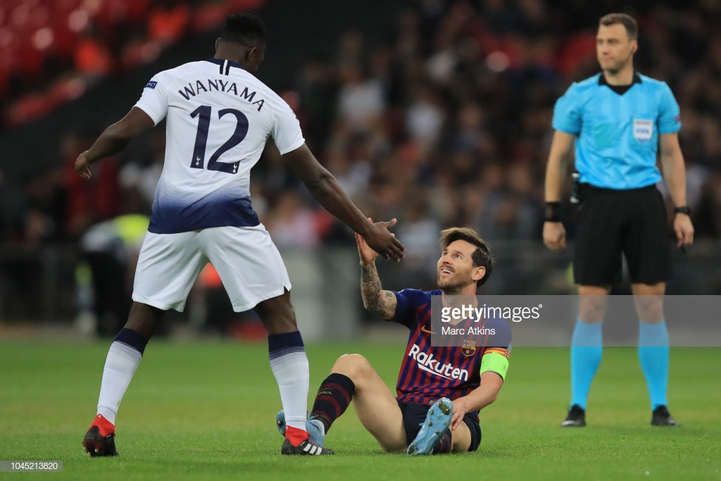 صور مباراة : توتنهام - برشلونة 2-4 ( 03-10-2018 )  P