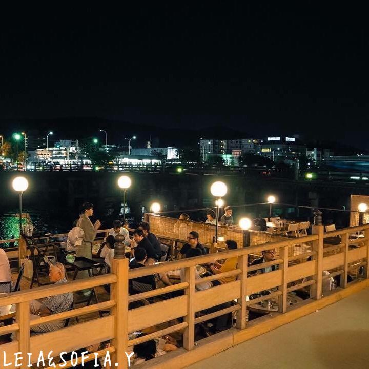 京都·鴨川納涼床料理