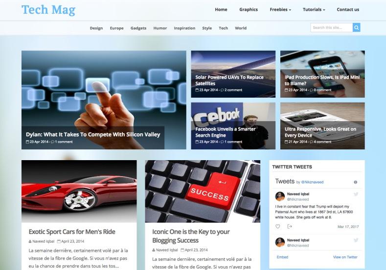 Tech_Mag_Blogger_Template