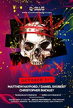 Skull Halloween Party