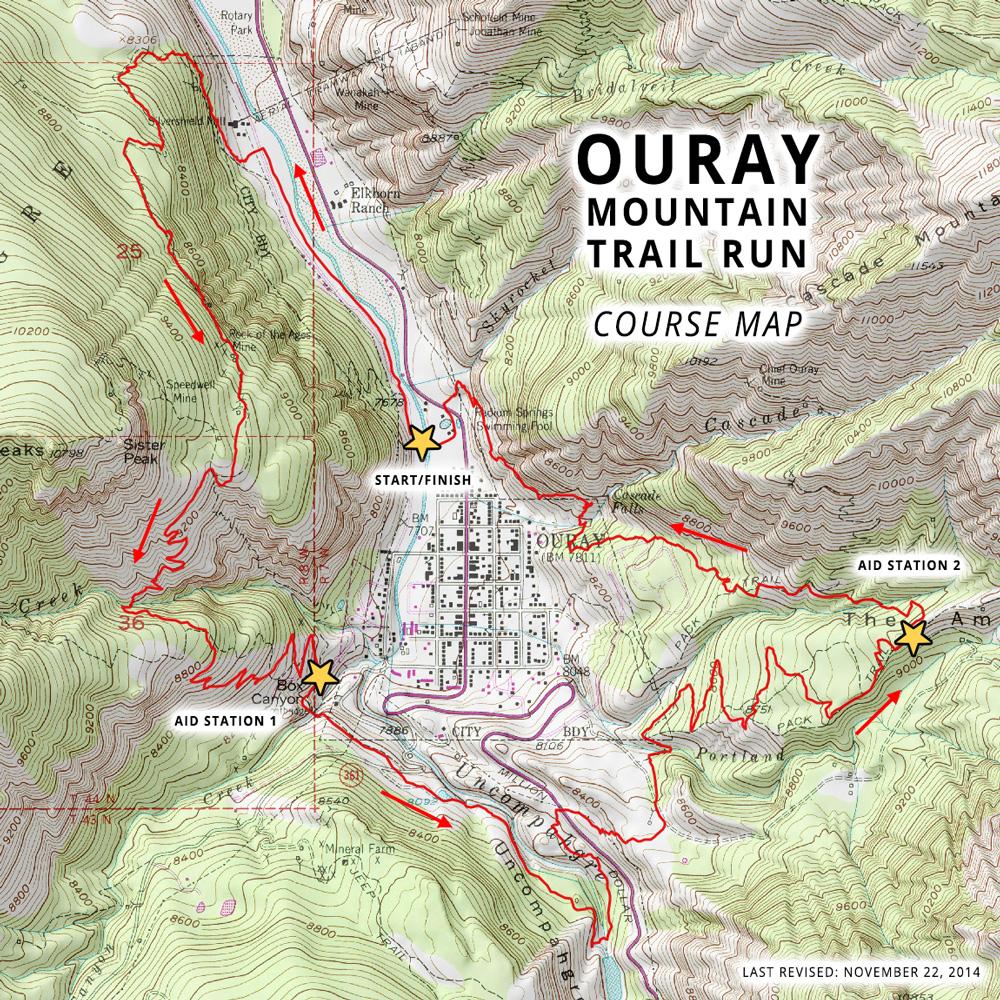 Ouray Mountain Trail Run - Ouray, CO