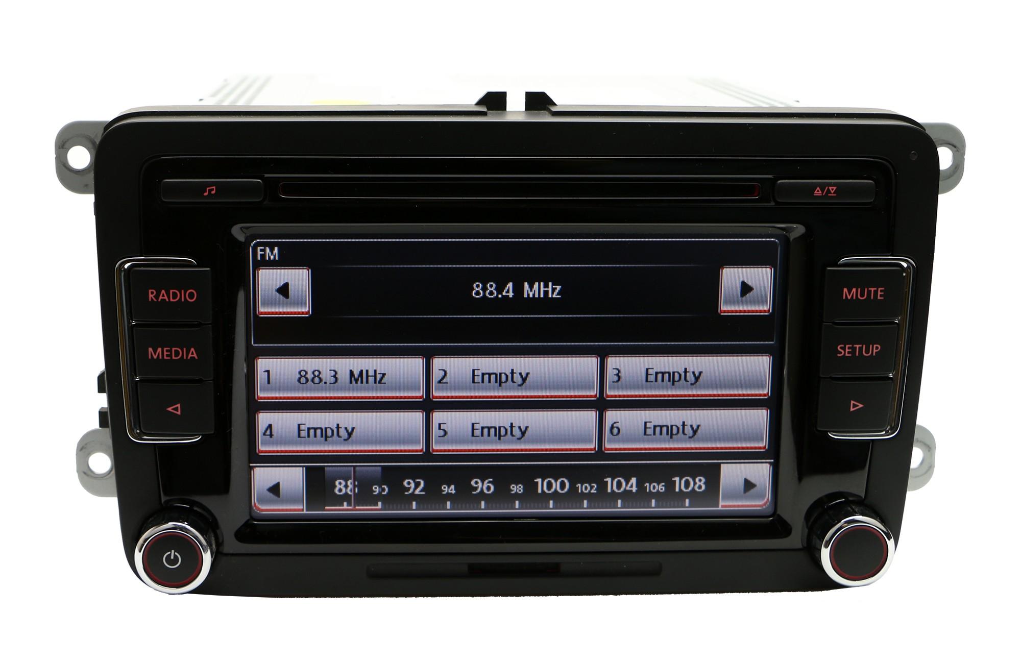 volkswagen rcd510rvc 6 disc cd player rcd510 radio golf. Black Bedroom Furniture Sets. Home Design Ideas