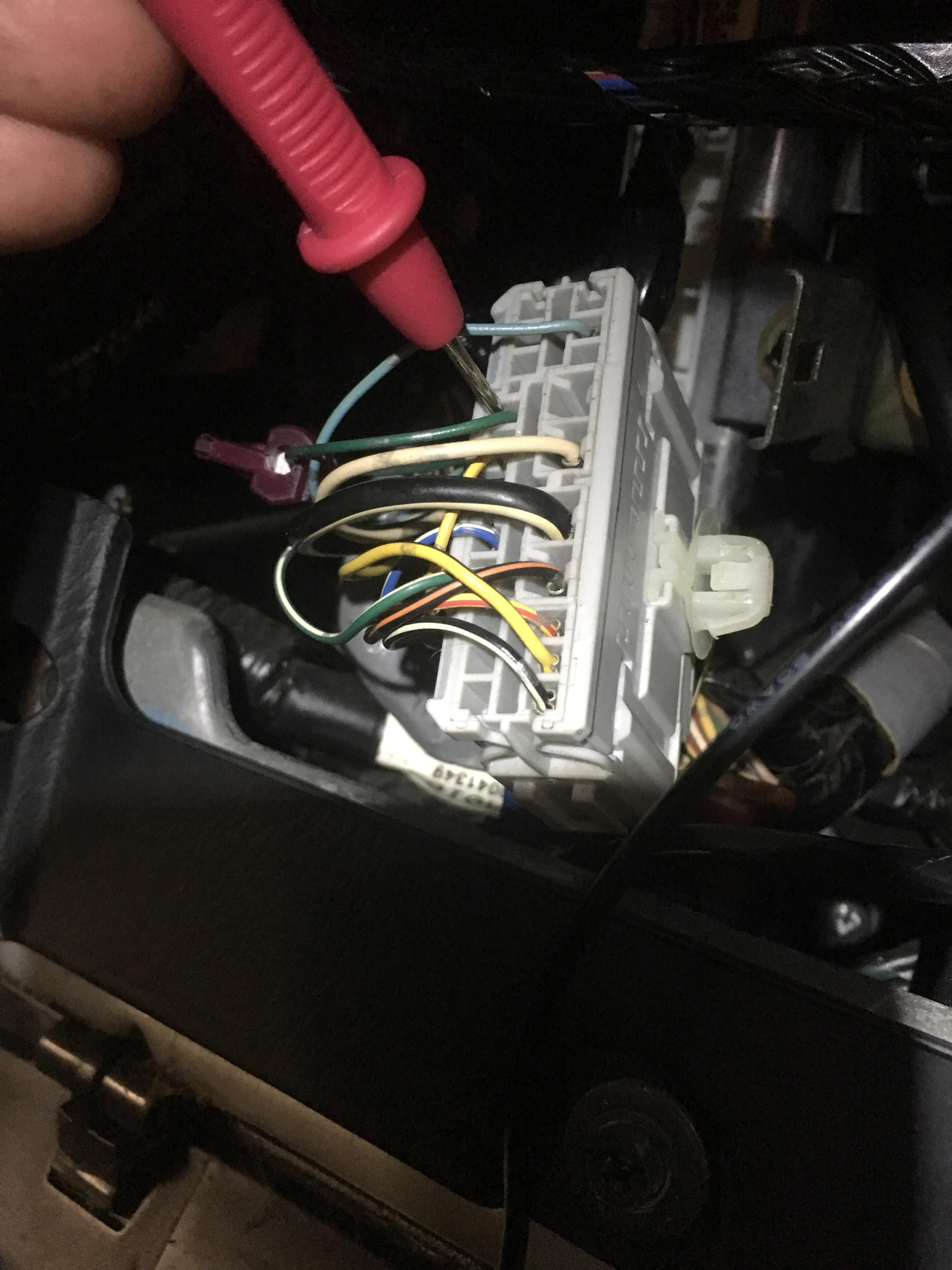 Backup Camera 7th Gen Dashboard Reverse Light Wire Color Harness 2003 Honda Civic Fuse Box Location P 05 Ex 5spd