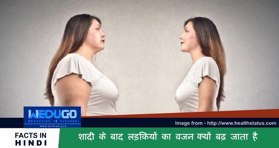 शादी के बाद लड़कियों का वजन क्यों बढ़ जाता है - Important General Knowledge Questions for competitive exam
