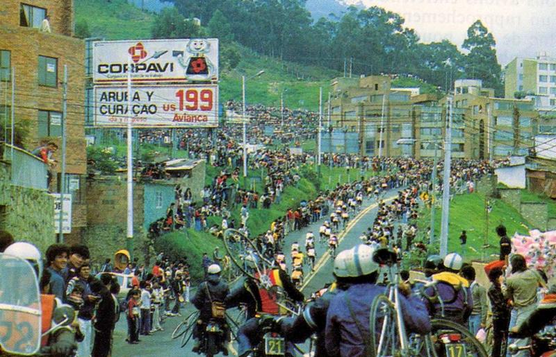 Imagenes épicas del ciclismo Colombiano. La colección definitiva Rcn_1984
