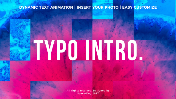 Videohive Typo Intro 20969059