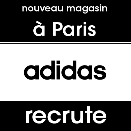 adidas recrute à Paris !