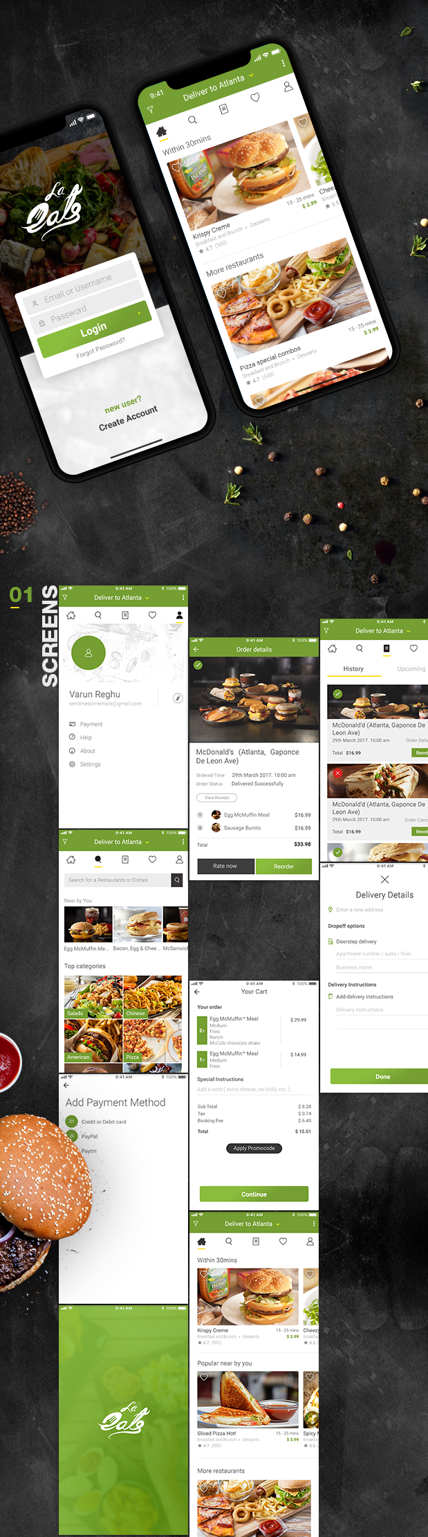 Free Codecanyon On Demand Food Delivery App Template