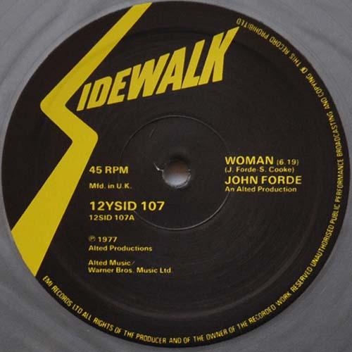 (Disco, Funk, Soul) [12] [24 / 96] John Forde - Woman (2014 Unofficial Reissue) - 1977, FLAC (tracks)