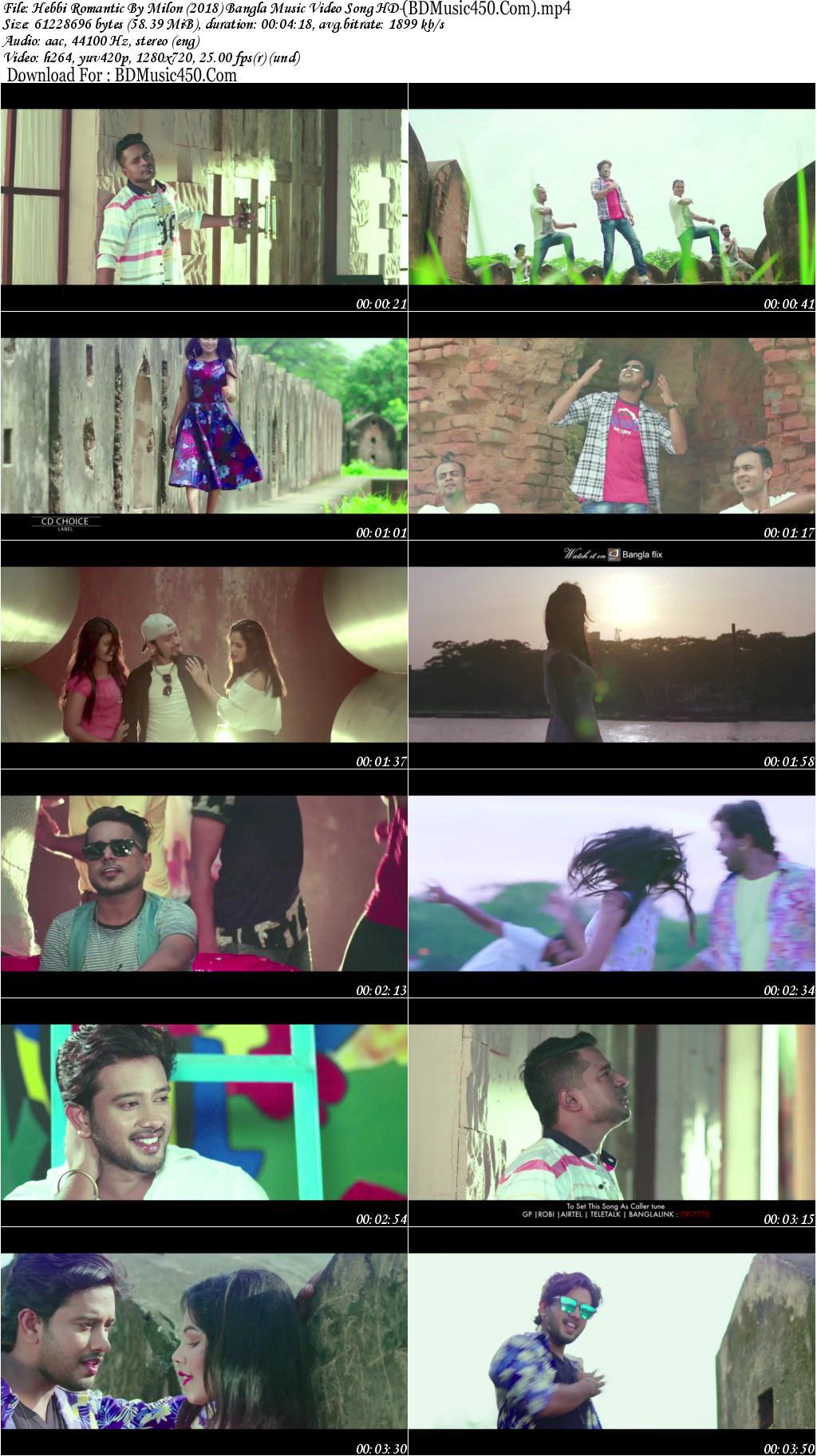 Hebbi Romantic 2018 Bangla Music Video By Milon HD