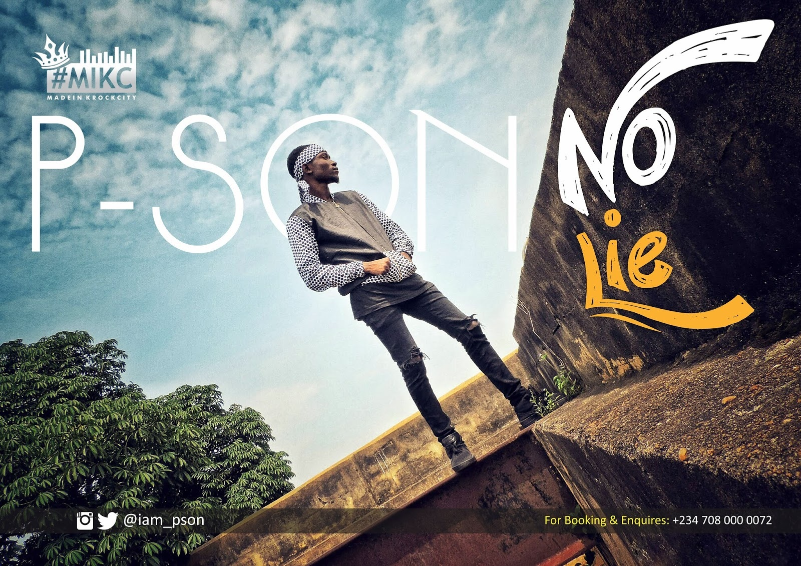 New Music: P-Son - No Lie (@Iam_Pson)