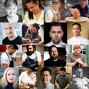 EAT!Dinner Series Chefs 2017