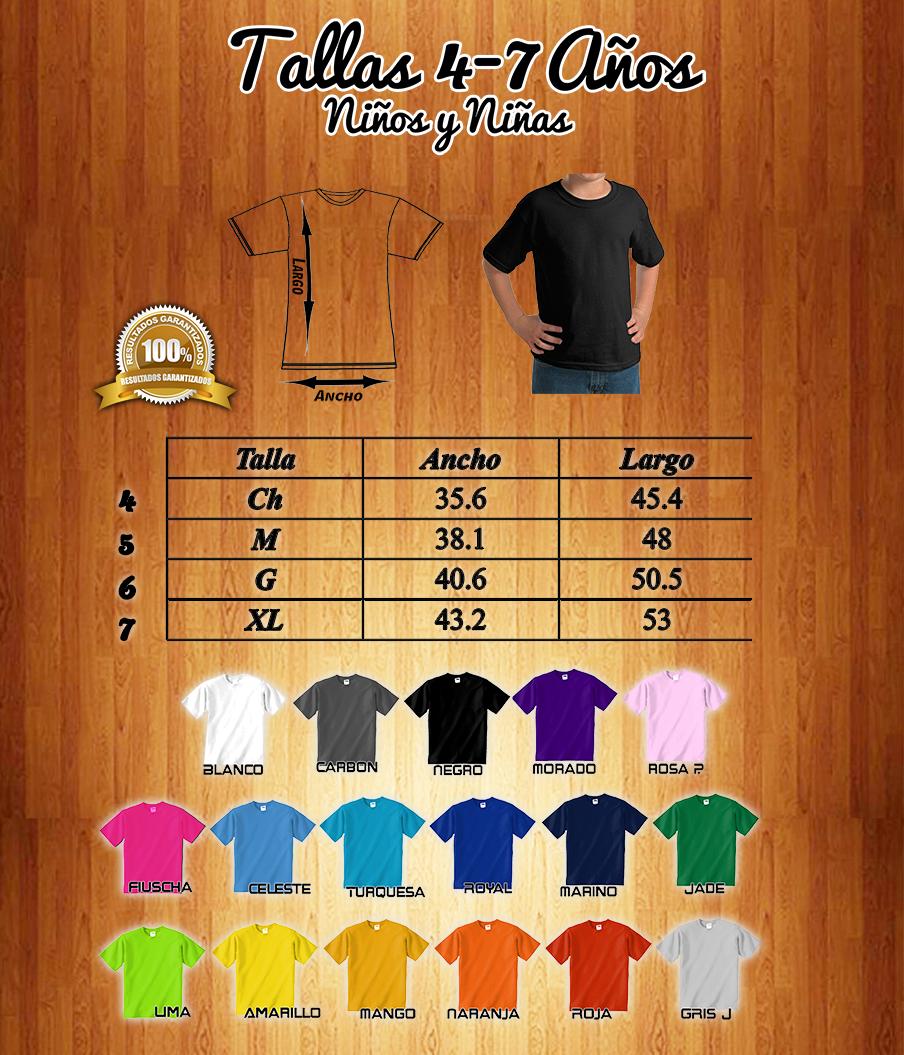 Playera Yazbek - Todos Los Colores (tallas Niños) (unisex) en venta ... b28a90bfd401c