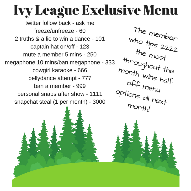 Ivy_League_Exclusive_Menu