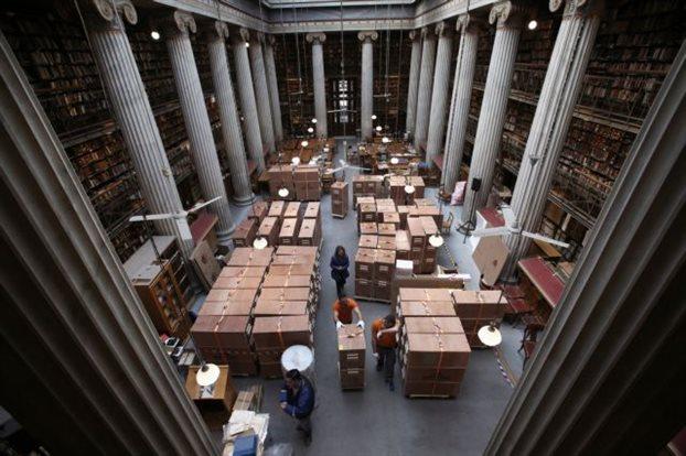 Η Εθνική βιβλιοθήκη