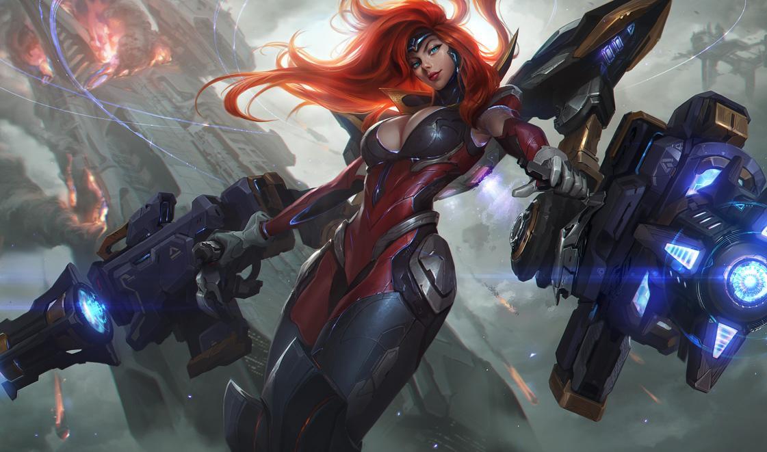 Miss Fortune diosa de las pistolas