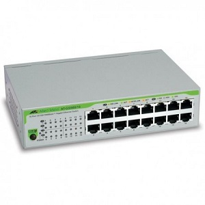 SWITCH HUB ALLIED TELESIS 16 PORT