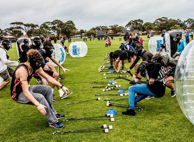 Archery Tag and Arrow Tag Rental in Los Angeles | Team Building Activity by AirballingLA