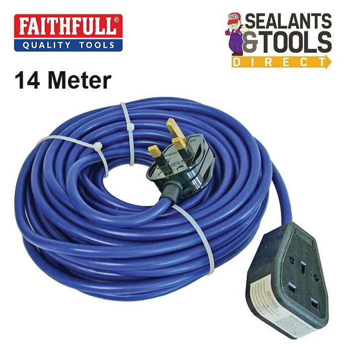Faithfull Electric Extension Cable 14m 10804