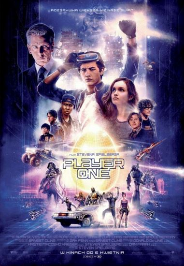 Player One / Ready Player One (2018) PL.AC3.DVDRip.XviD-GR4PE | Lektor PL