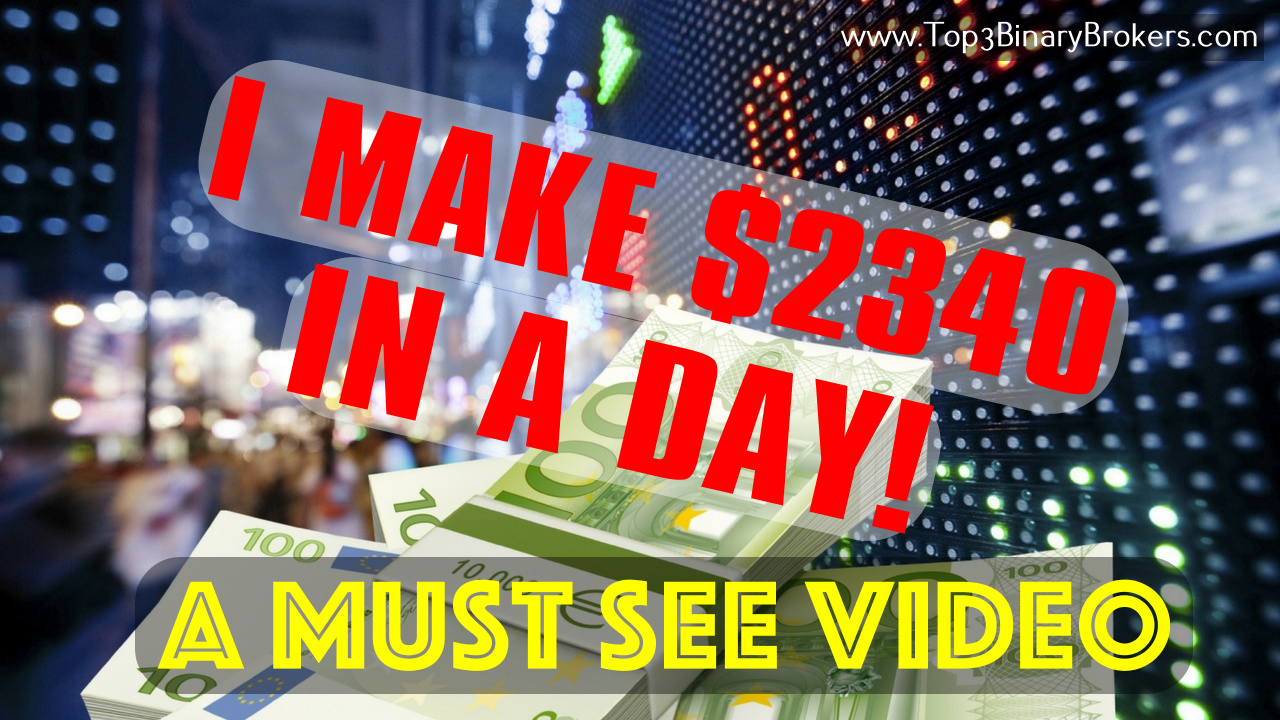 How To Make Money With Binary Option Scandle Strategy Income