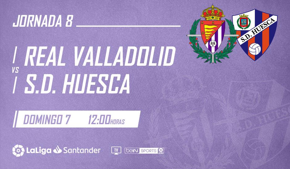 Real Valladolid - S.D. Huesca. Domingo 7 de Octubre. 12:00 Valladolid_Huesca