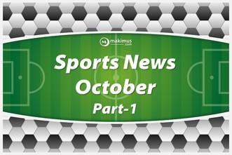 Sports Current Affairs 2017. Sports Live. Latest Sports news.