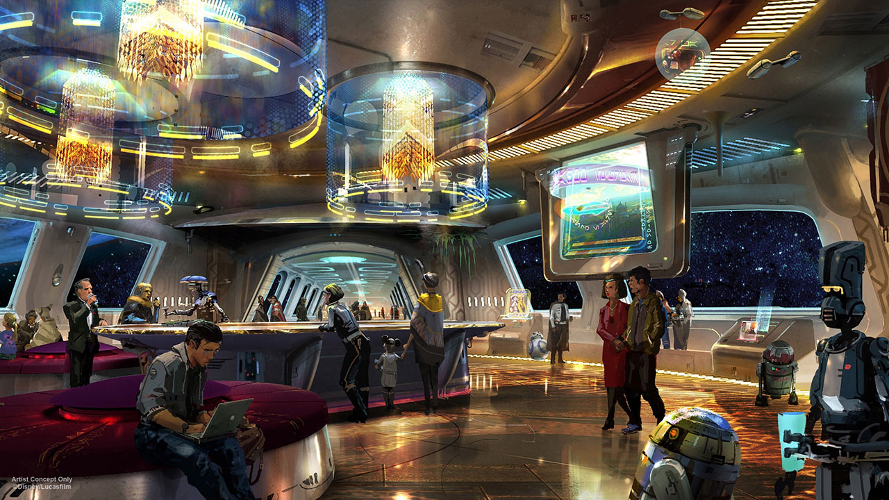 Star Wars Hotel at Walt Disney World Resort