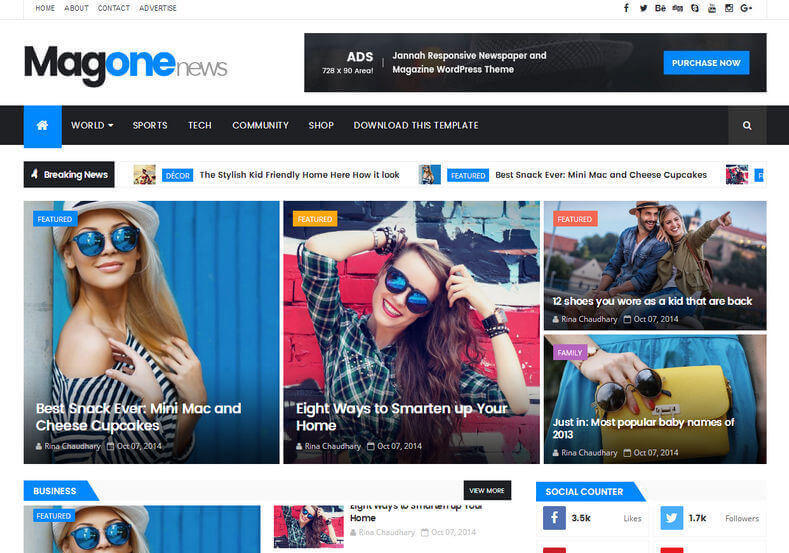 Mag_One_Responsive_Blogger_Template