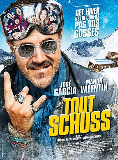 Wielki szus / Tout Schuss (2016)  PL.DVDRip.Xvid-DiDi / Lektor PL