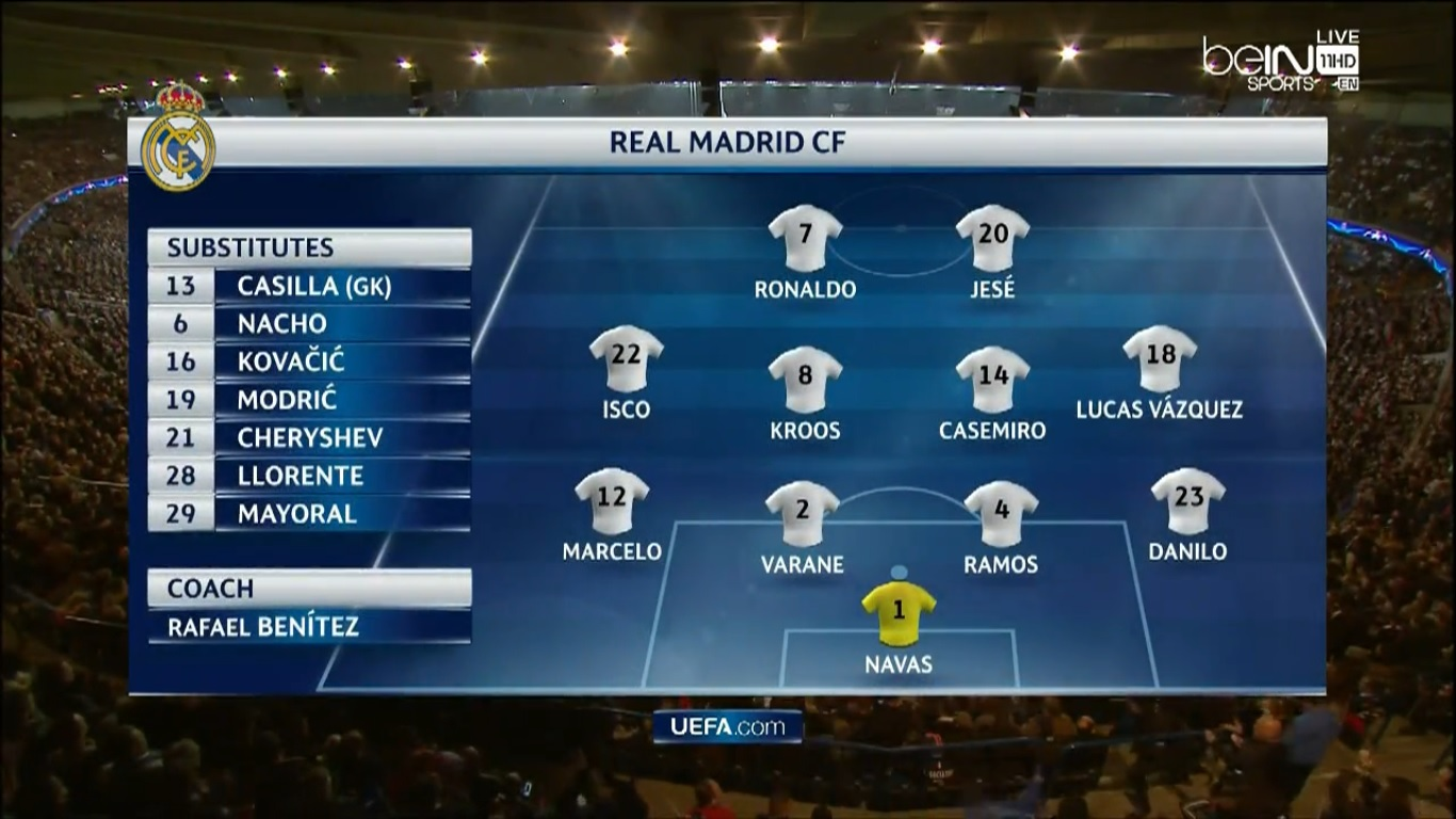 Champions League 2015/2016 - Grupo A - J3 - Paris Saint-Germain Vs. Real Madrid (720p/720p) (Inglés/Polaco) Captura_2