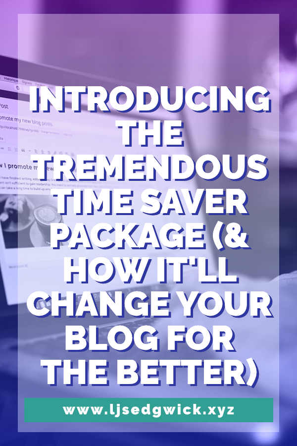 Tired of running out of time to write posts for your tech startup's blog? Find out here how the Tremendous Time Saver Package can help.