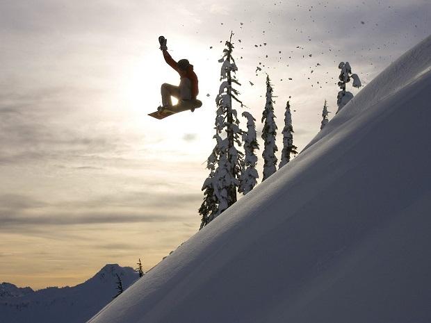 snoubord ekstrim sneg zima