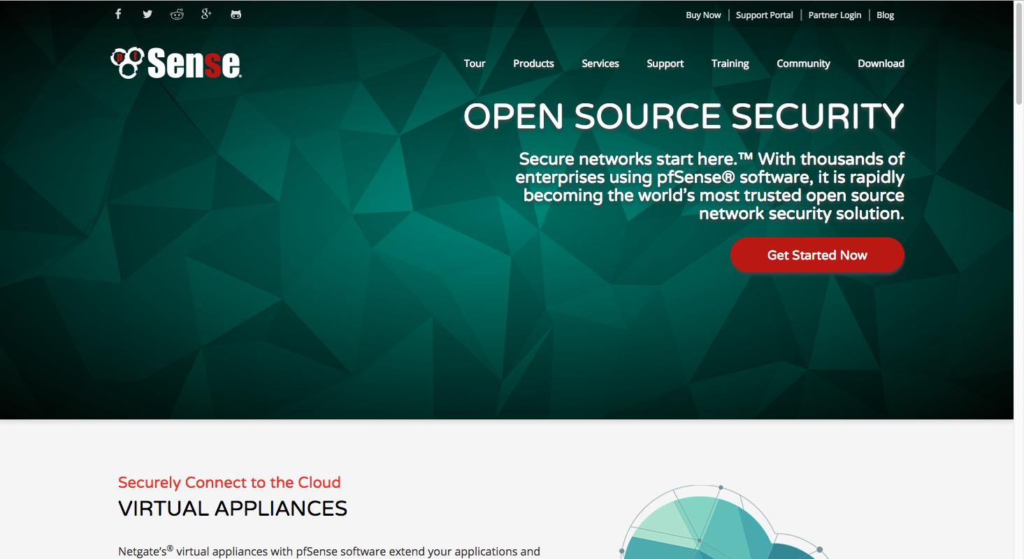 PFSense screenshot
